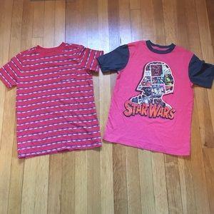 2 boy's t-shirts size 8